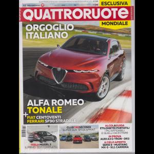Quattroruote  + Qdossier prove Suv & Crossover - n. 768 - agosto 2019 - mensile - 2 riviste