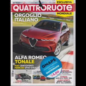Quattroruote + QMaps - n. 768 - agosto 2019 - mensile - 2 riviste