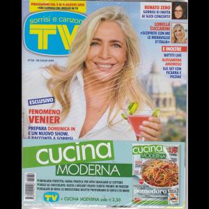 Sorrisi e Canzoni tv + Cucina moderna - n. 30 - 30 luglio 2019 - settimanale - 2 riviste