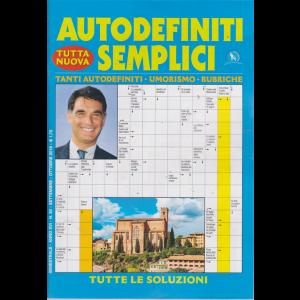 Autodefiniti semplici - n. 94 - bimestrale - settembre - ottobre 2019 -