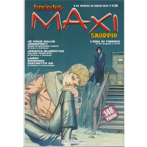 Lanciostory & Skorpio Maxi - n. 49 - mensile - 29 luglio 2019 - 148 pagine
