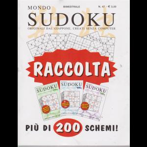 Raccolta Mondo sudoku - n. 47 - bimestrale - agosto - settembre 2019