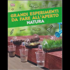 Le Grandi Collezioni - Grandi esperimenti da fare all'aperto natura  - n. 36 - settimanale - 30/7/2019