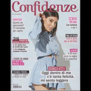 Confidenze - n. 32 - 30 luglio 2019 - settimanale