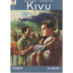 Albi Avventura - Kivu - n. 1 - settimanale -