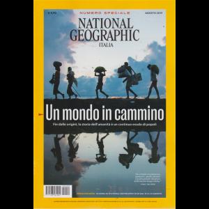 National Geographic - Un Mondo In Cammino - Numero speciale - n. 2 - agosto 2019 - mensile -
