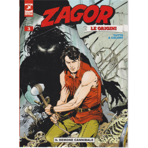 Zagor Gigante - Il Demone Cannibale - Le origini - n.12 - agosto 2019 - mensile