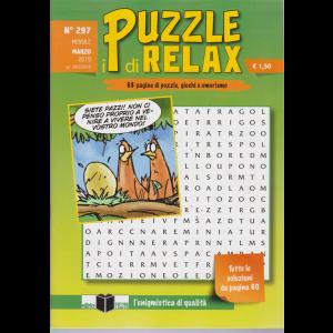 I Puzzle Di Relax - n. 297 - mensile - marzo 2019 - 68 pagine di puzzle, giochi e umorismo
