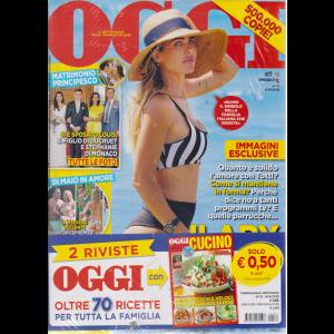 Oggi + Oggi cucino - n. 31 - 8/8/2019 - settimanale - 2 riviste