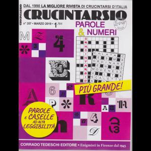 Crucintarsio - n. 357 - marzo 2019 - mensile