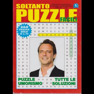 Soltanto Puzzle Facili - n. 63 - trimestrale - settembre - novembre 2019 - 260 pagine