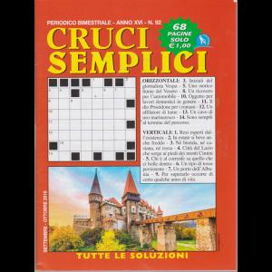 Cruci Semplici - n. 92 - bimestrale -settembre - ottobre 2019 - 68 pagine