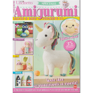 Tutto Uncinetto Speciale - Amigurumi - n. 8 - bimestrale - agosto - settembre 2019 -