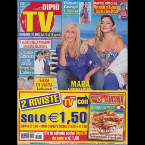 Dipiu' Tv+ - Dipiu' Cucina - n. 32 - 12 agosto 2019 - settimanale - 2 riviste