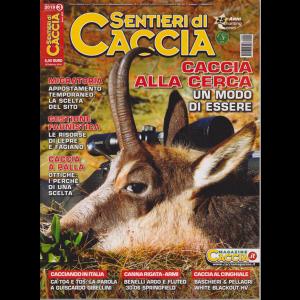 Sentieri Di Caccia - n. 3 - mensile - marzo 2019 -