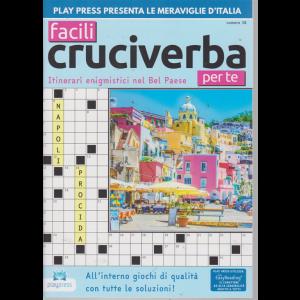 Facili Cruciverba Per Te - n. 38 - bimestrale - 2/8/2019