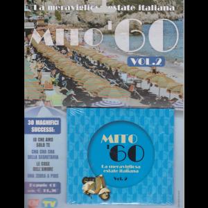 Cd Sorrisi Super - Mito 60 Vol.2 - La meravigliosa estate italiana - settimanale - 6 agosto 2019 - doppio cd