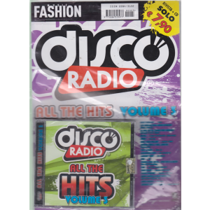 Music Fashion Var.07 - Cd Discoradio All The hits - volume 3 - rivista + cd