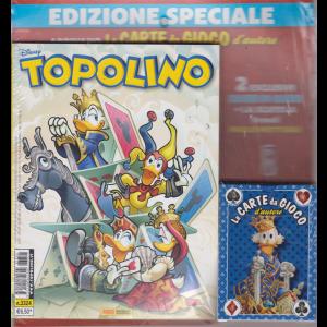 Topolino edizione speciale - + Le carte da gioco d'autore - n. 3324 - settimanale - 7 agosto 2019 -