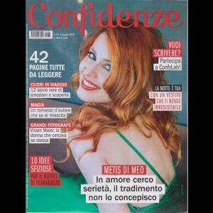 Confidenze - n. 33 - 6 agosto 2019 - settimanale