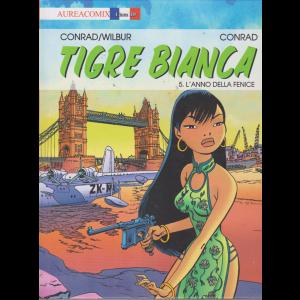 Aureacomix Linea Bd - Tigre Bianca/5 - n. 45 - mensile - 5 agosto 2019 - L'anno della fenice