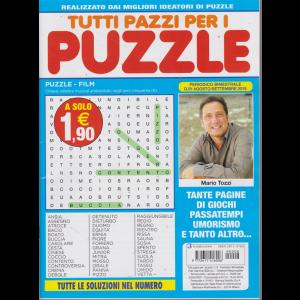 Tutti Pazzi Per I Puzzle - n. 8 - bimestrale - agosto - settembre 2019 -