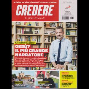 Credere - La Gioia Della Fede - n. 32 - 11 agosto 2019 - settimanale