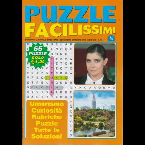 Puzzle Facilissimi - n. 75 - bimestrale - settembre - ottobre 2019 - 65 puzzle