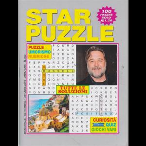 Star Puzzle - n. 303 - bimestrale - settembre - ottobre 2019 - 100 pagine