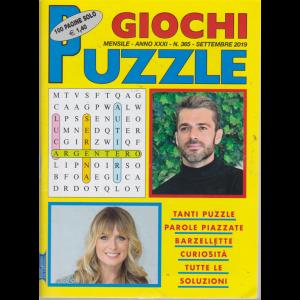 Giochi Puzzle - n. 365 - mensile - settembre 2019 - 100 pagine