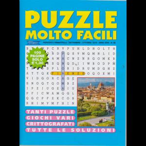 Puzzle Molto Facili - n. 92 - bimestrale - settembre - ottobre 2019 - 100 pagine