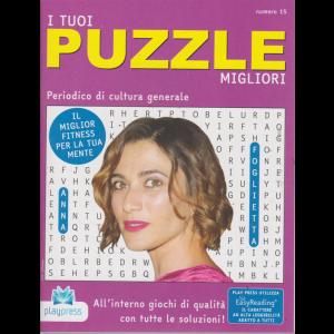 I Tuoi Puzzle migliori - n. 15 - 5/8/2019 - bimestrale - Anna Foglietta