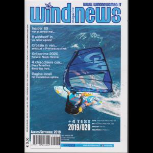 Wind news surf magazine - n. 5/6 - agosto - settembre 2019- mensile