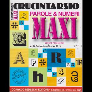 Maxi Crucintarsio - n. 70 - settembre - ottobre 2019 - trimestrale -
