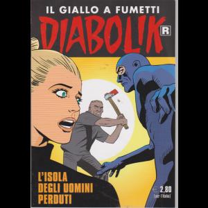 Diabolik Ristampa - n. 698 - L'isola degli uomini perduti - mensile - 10/8/2019 -