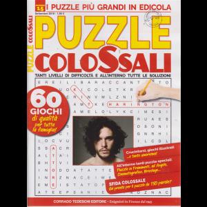 Puzzle Colossali - n. 15 - settembre 2019 - mensile
