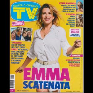 Sorrisi E Canzoni Tv - n. 32 - 13 agosto 2019 - settimanale