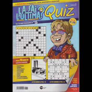 Fivestore Magazine - La Sai L'ultima?  quiz - N 5 - 13 agosto 2019 - quindicinale