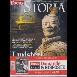 Focus Storia Speciale + Focus storia Domande & Risposte - n. 155 - settembre 2019 - mensile - 2 riviste