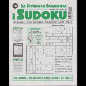La settimana enigmistica - i sudoku - n. 56 - 15 agosto 2019 - settimanale