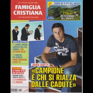 Famiglia Cristiana -n. 33 - 18 agosto 2019 - settimanale