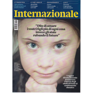 Internazionale - n. 1296 - 1/7 marzo 2019 - settimanale