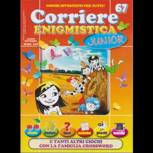 Corriere Enigmistica Junior - n. 67 - agosto - settembre 2019 - bimestrale -