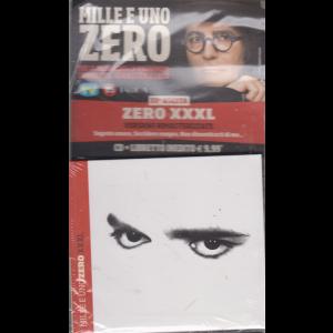 Cd Musicali Di Sorrisi - n. 33 - Mille e uno Zero - cd + libretto inedito - Zero XXXL - settimanale
