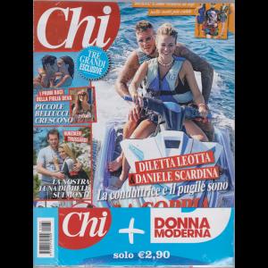 Chi+Donna Moderna - n. 33 - settimanale - 14 agosto 2019  - 2 riviste