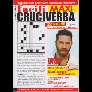 Facili Cruciverba Maxi - n. 7 - agosto - ottobre 2019 - 200 pagine