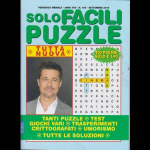 Solo Facili Puzzle - n. 190 - mensile - settembre 2019 - 100 pagine