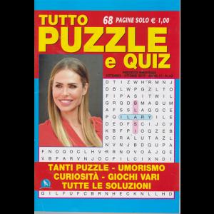 Tutto Puzzle E Quiz - n. 63 - bimestrale - settembre - ottobre 2019 -