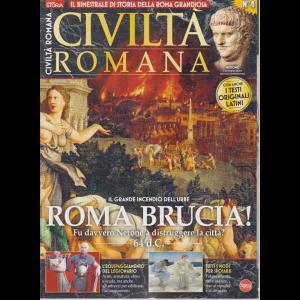 Conoscere la storia - Civiltà romana - n. 4 - bimestrale - agosto - settembre 2019