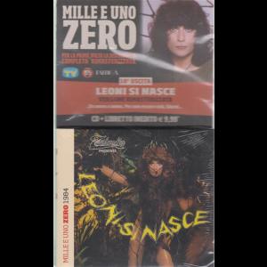 Cd Musicali Di Sorrisi  -n.  10 Cd Renato Zero - Mille e uno Zero 1984- Leoni si nasce - cd + libretto -
